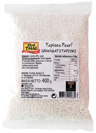 Granulat z tapioki 400g Real Thai