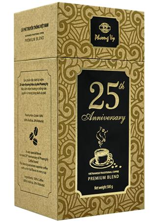 Kawa mielona 25th Anniversary Premium Blend 500g - Phuong Vy