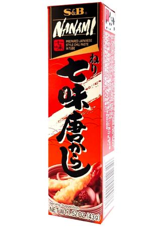 Pasta Nanami - Japanese Style Chili 43g S&B