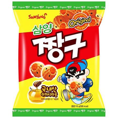 Słodkie chrupki Honey Dipped Snack 115g Samyang