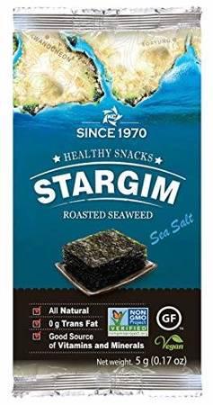 Snacki Stargim z alg morskich 5g Gwangcheon Nori