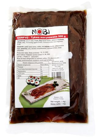 Tykwa marynowana Kanpyo 1kg Nobi