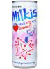 Milkis - mleczny napój gazowany o smaku truskawkowym z witaminami 250ml Lotte